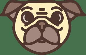 Old StoragePug logo head
