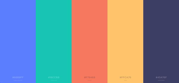 new StoragePug color scheme