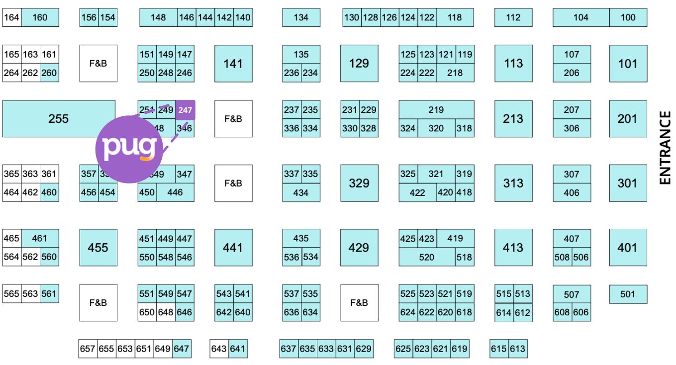 SSA 2021 - Trade Show Map