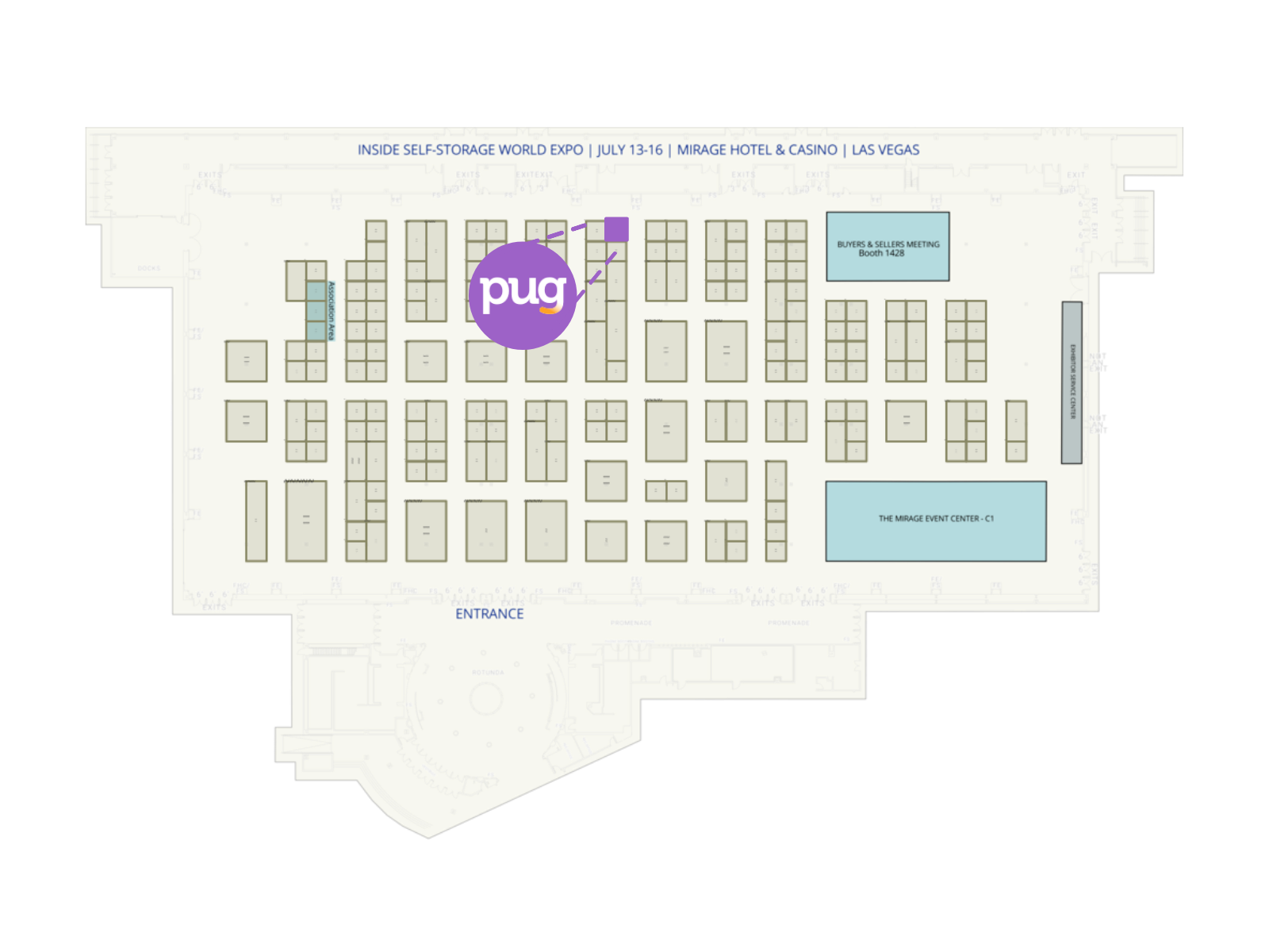 ISS 2021 - booth map