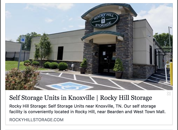 Rocky Hill Storage Facebook Unfurl