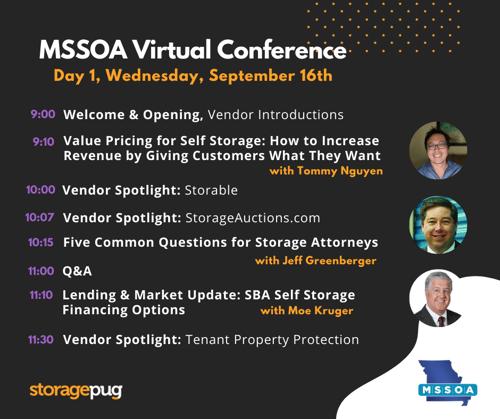 MSSOA - Agenda - Day 1