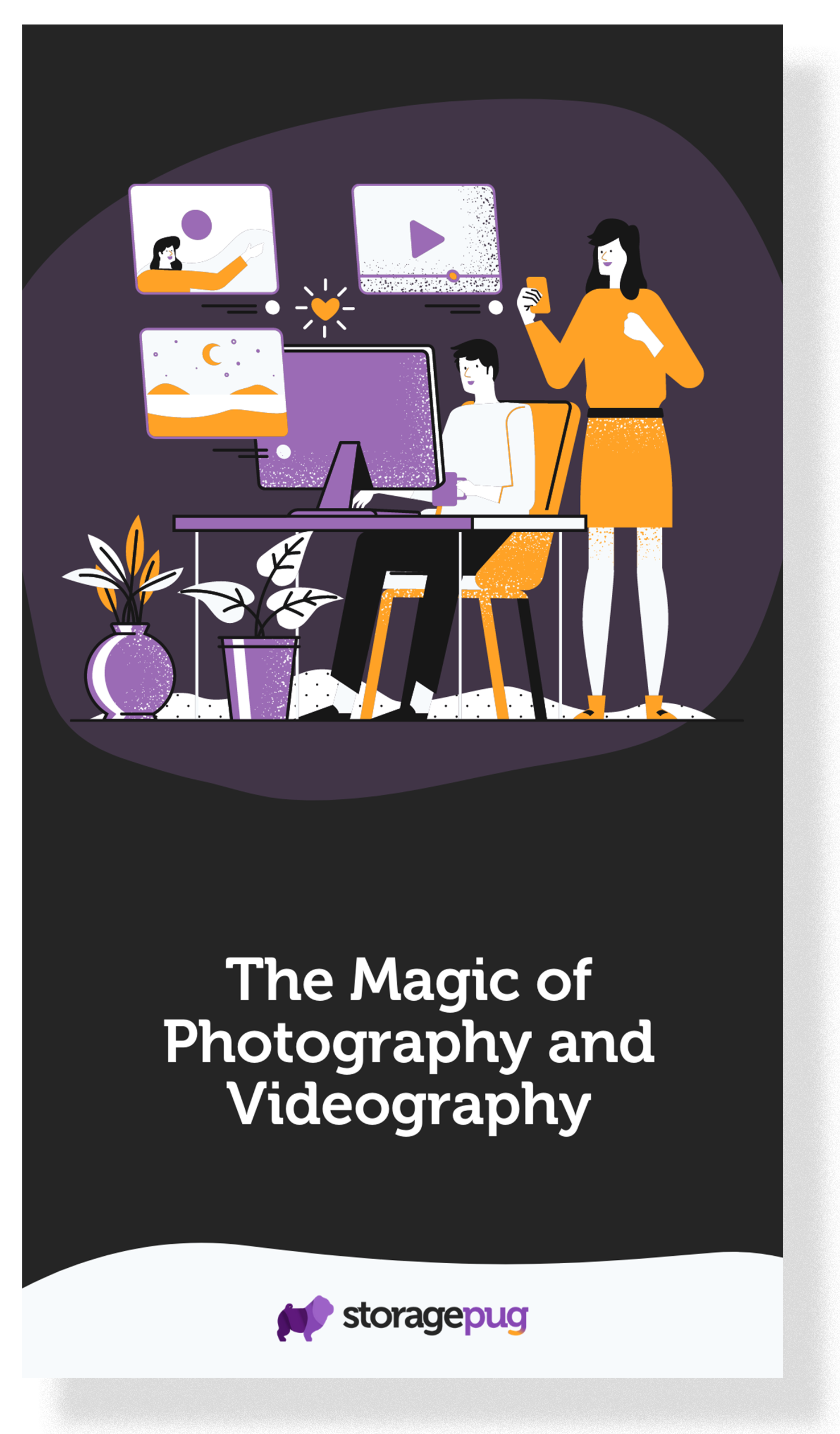 Magic of Photo and Video Cover - Dropshadow