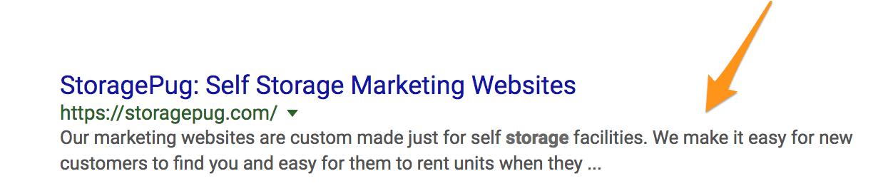 StoragePug_on_Google