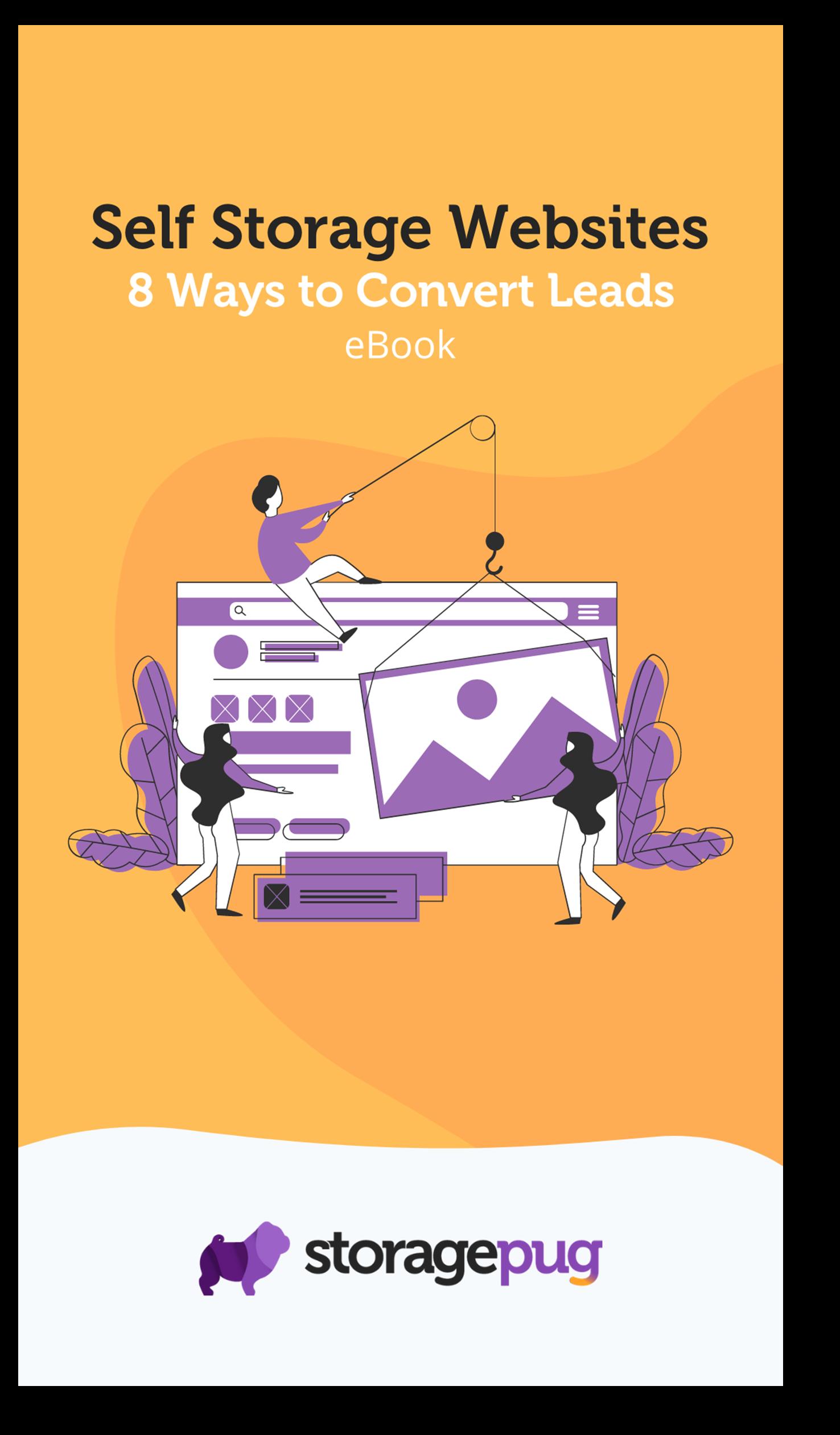 Self Storage Websites - 8 Ways eBook - Cover