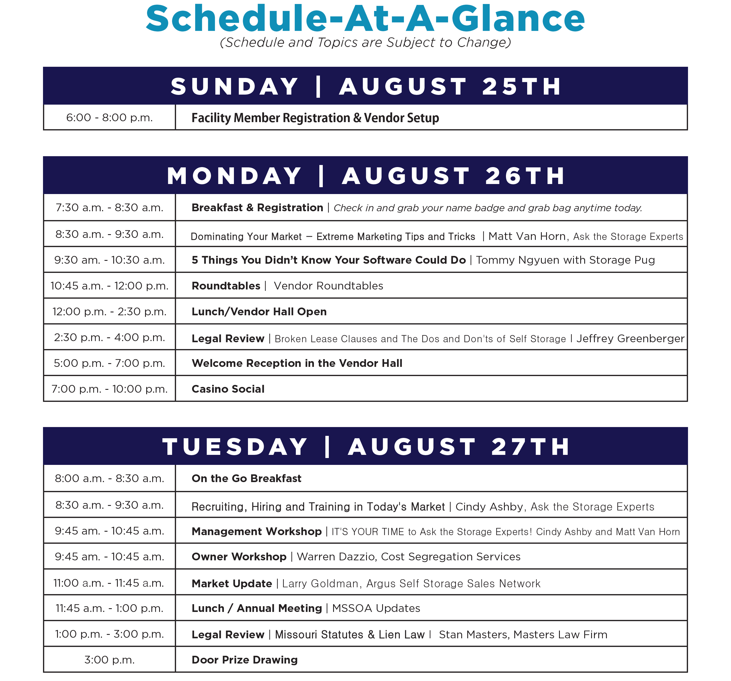 mssoa-schedule-of-events