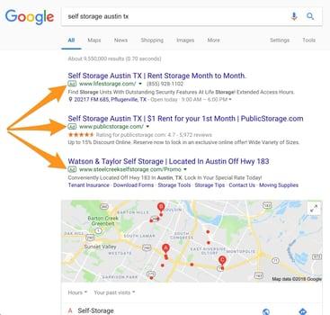 Self storage Austin TX Google Search