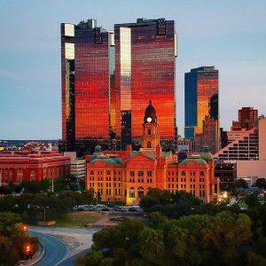 Fort Worth Texas Skyline
