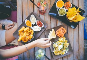 mexican food outdoor restaurant