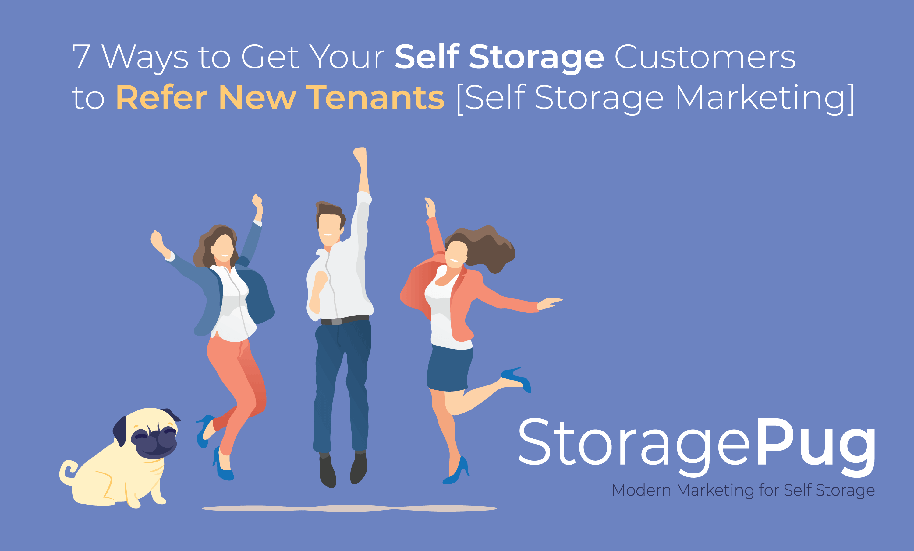 As the manager or owner of a self storage facility, you know that referrals are useful for growing your list of tenants.  Referrals from friends are the most credible form of advertising among consumers.
