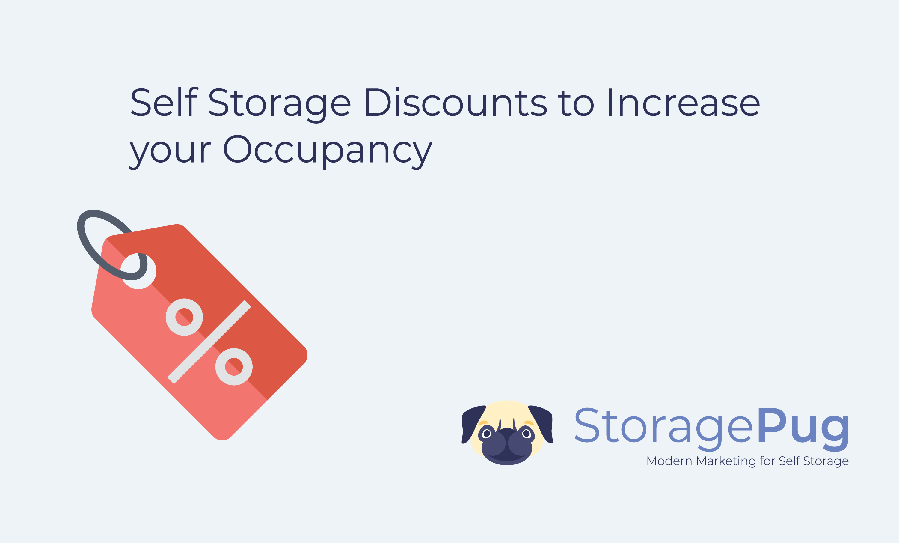 At StoragePug, we make it easy to offer discounts on your self storage facility website. However, being able to offer a discount is not the same as ensuring that the discount will be effective.