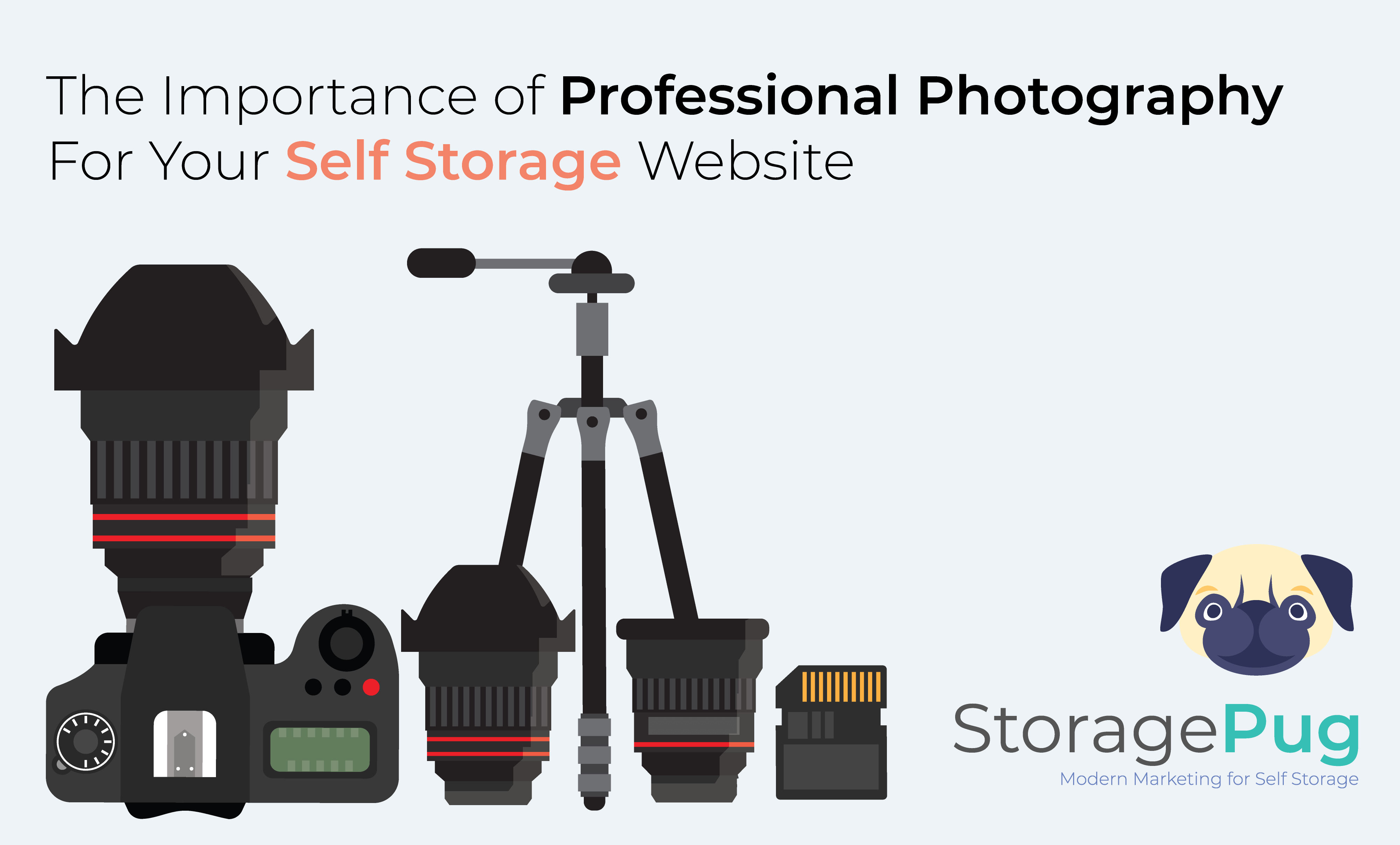Do you have grainy or pixellated pictures on your website- The photos on your self storage website or marketing materials will be the first thing potential customers see before visiting your property.