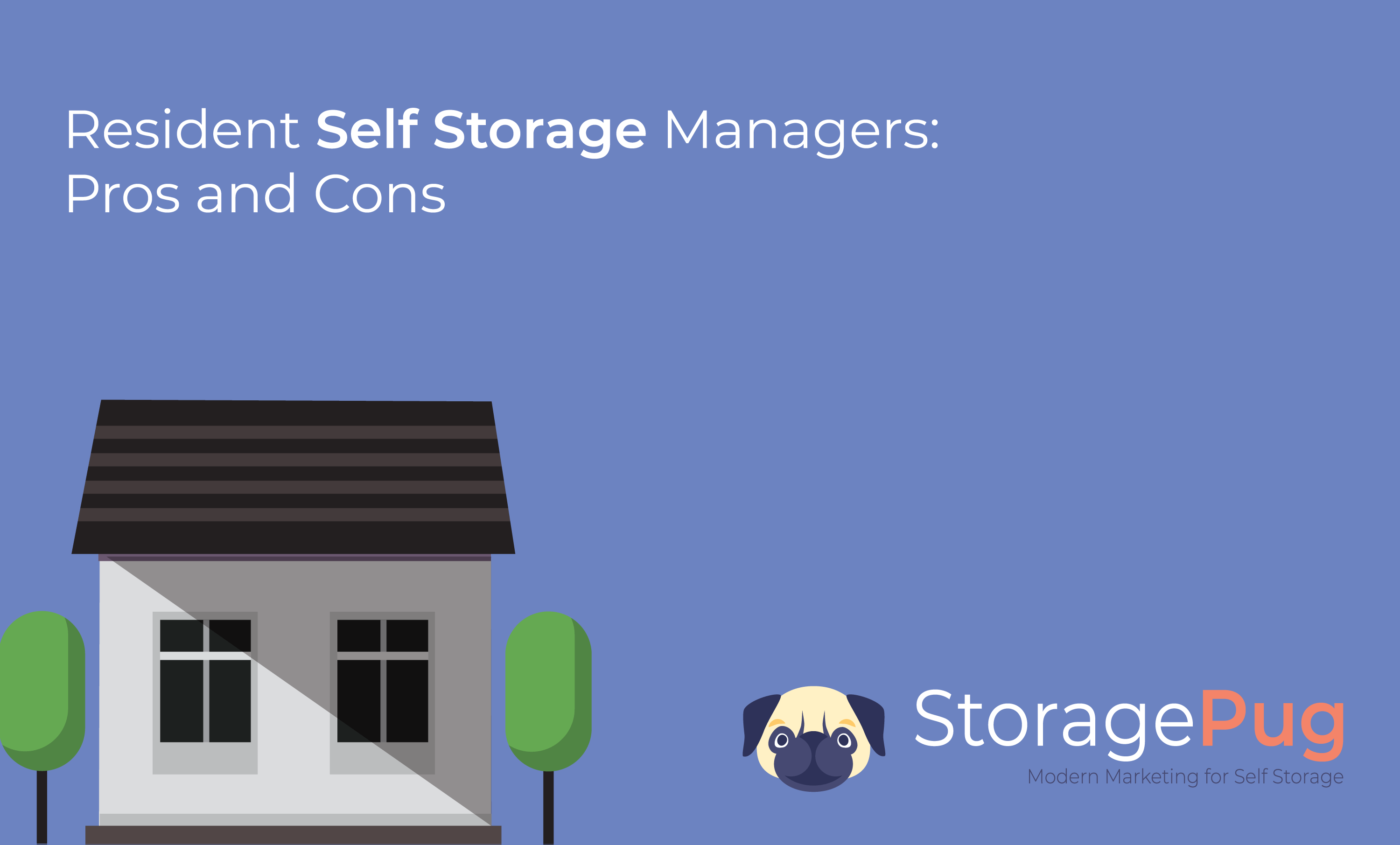 Having a resident manager has been a regular practice in the self storage industry since the inception of the industry in the late 1960's.