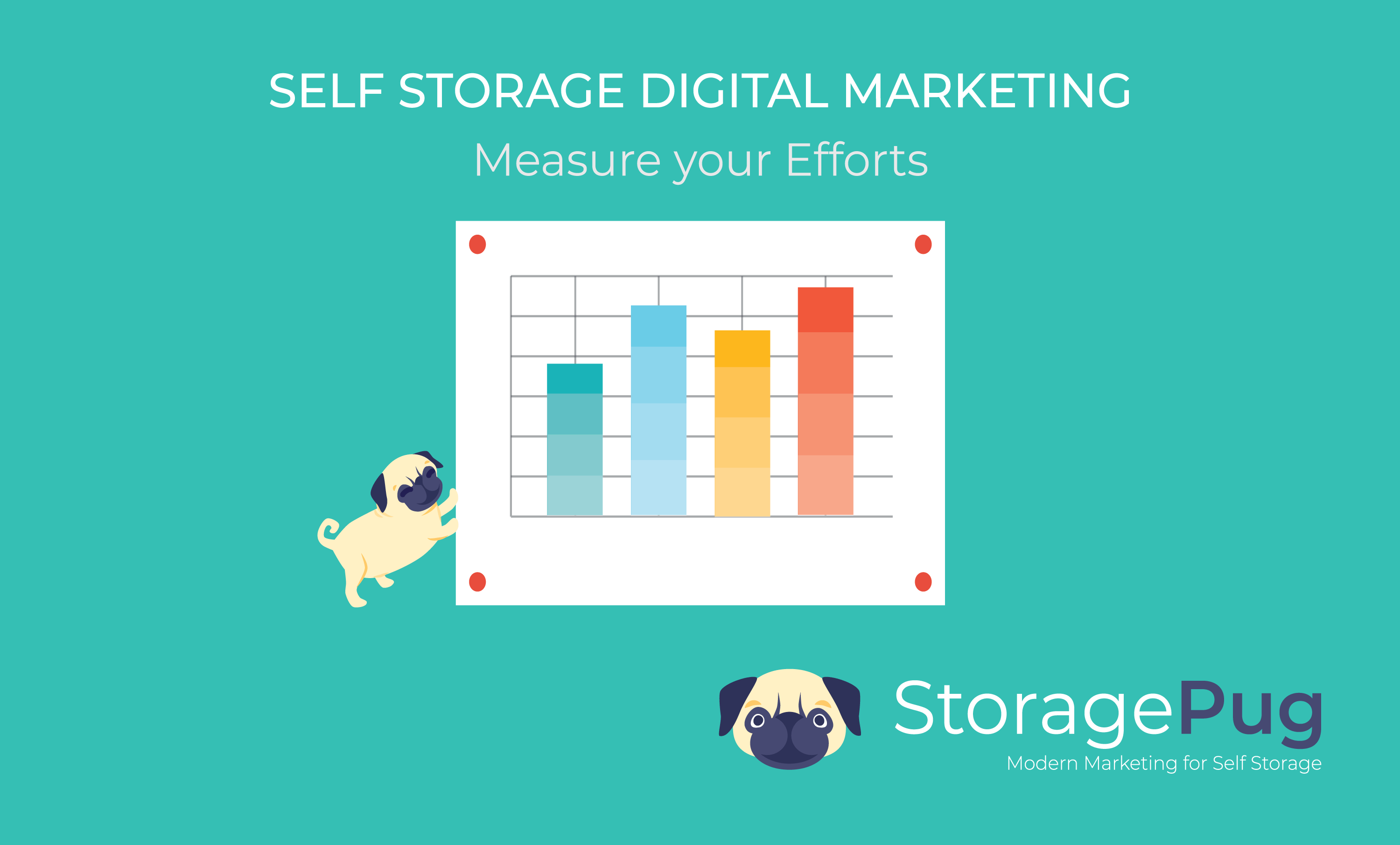 Measuring your self storage digital marketing efforts is the process of gathering the results of your online marketing efforts with Marketing analytics.  This data includes how your actions affect the journey of your customers and clients.