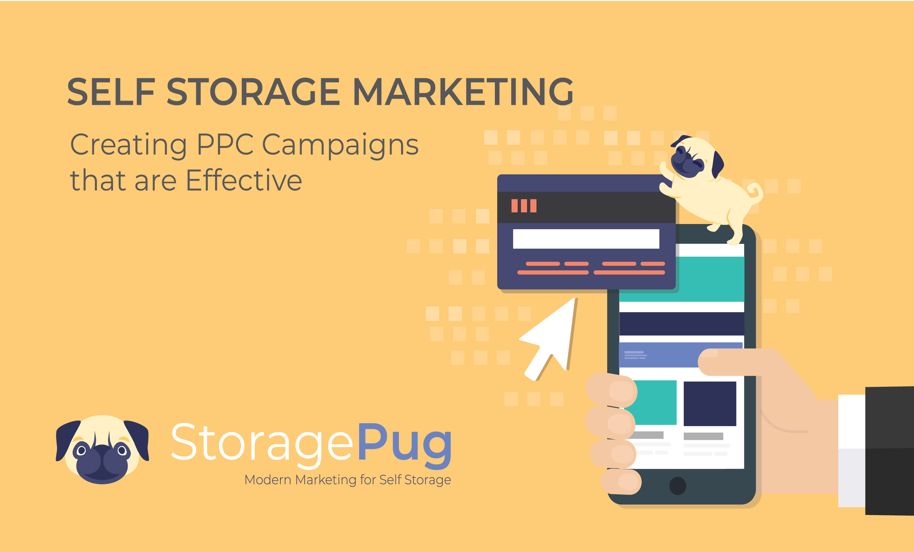 PPC ads are a great way to focus on a target self storage audience and get your message in front of it as quickly as possible.