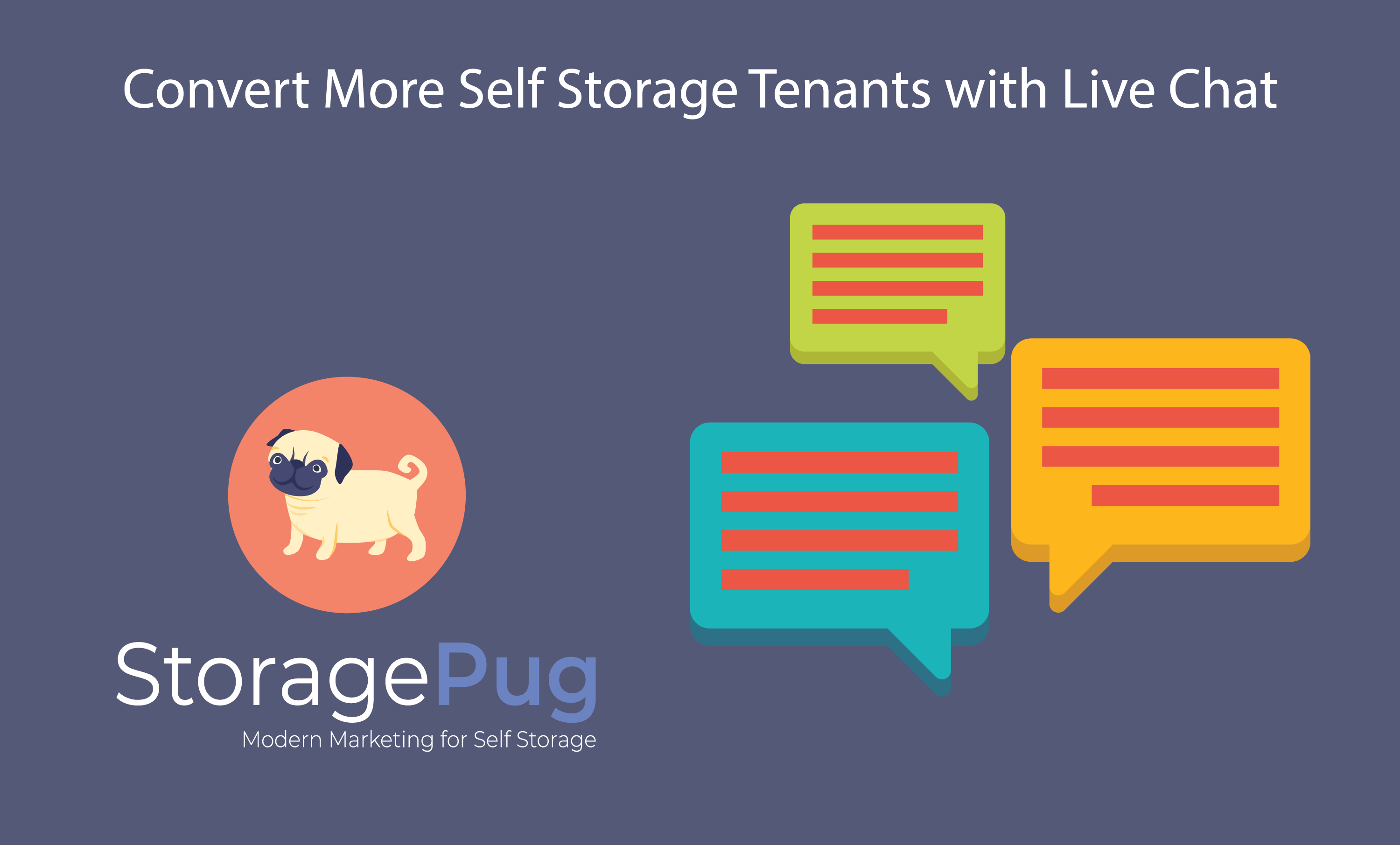 We've all been to websites that use live chat to try to engage with their customers, but is this feature right for your self storage website-