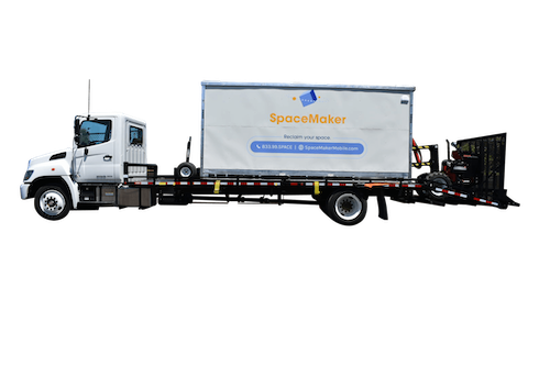 SpaceMaker Mobile Storage Portable Storage Unit Truck