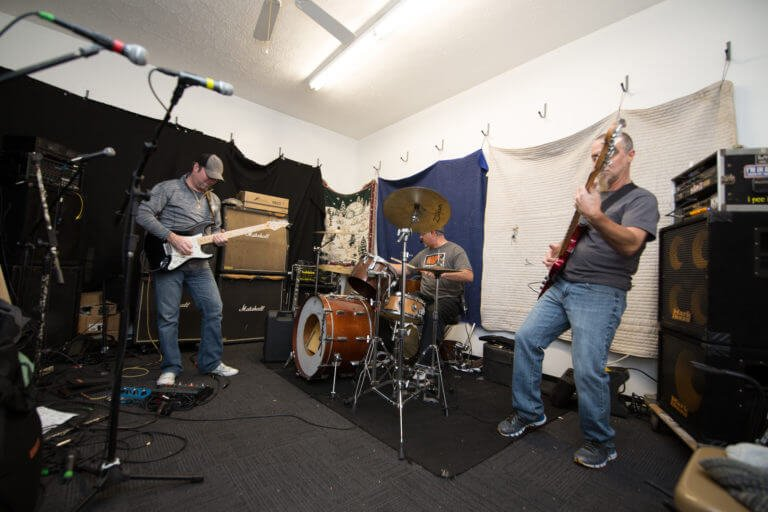 Band Practice at Pittsburgh, PA Rental practice space