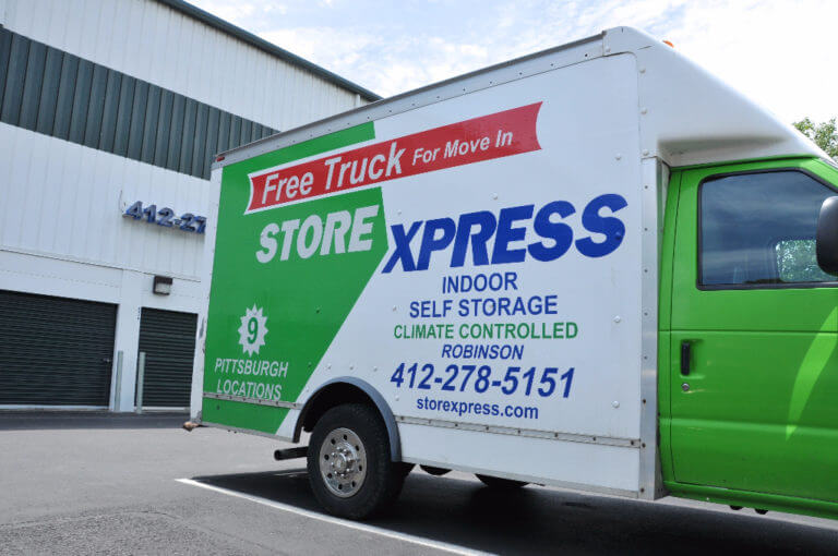 STORExpress Free Moving Truck