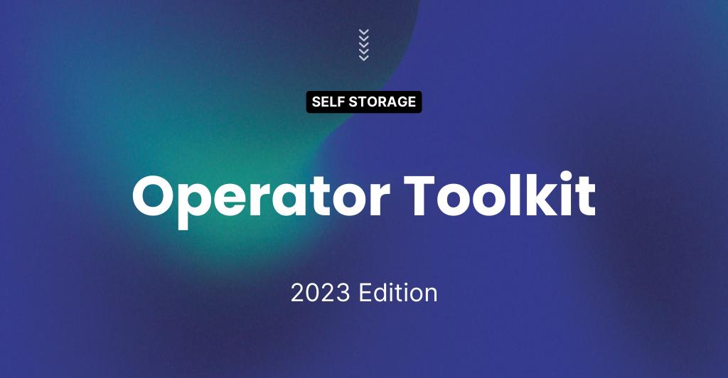 Self Storage Operator Toolkit