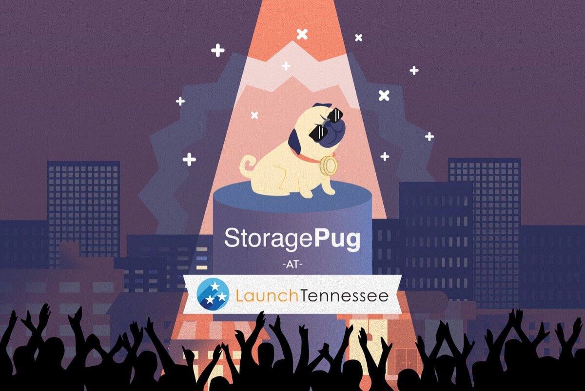 StoragePug self storage vendor at LaunchTN business tradeshow