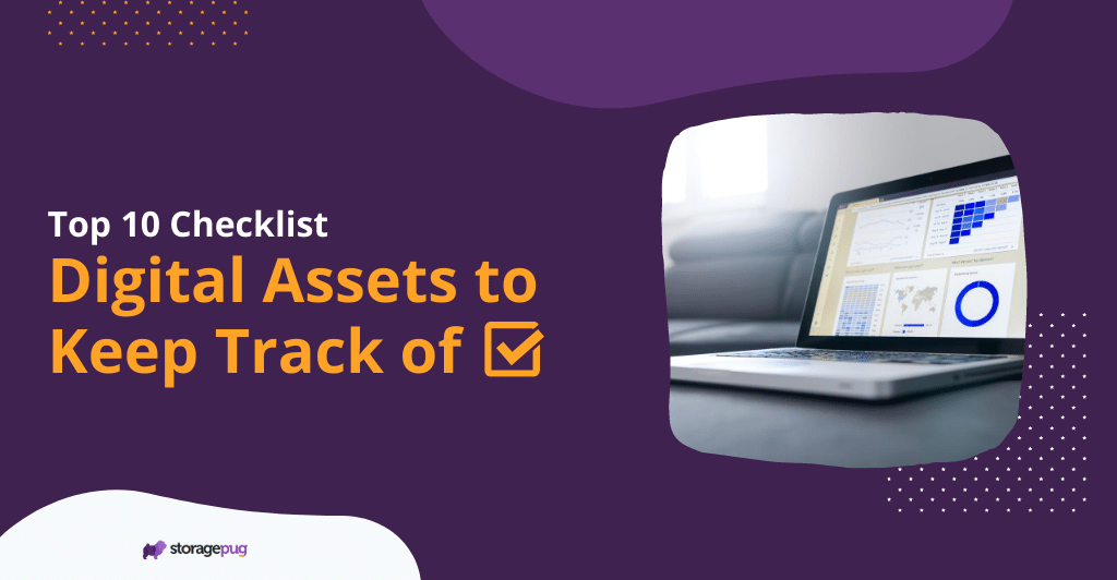 Top 10 Digital Assets to Keep Track of Checklist