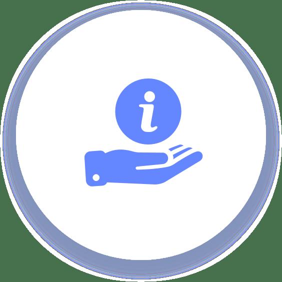 StoragePug hand info icon