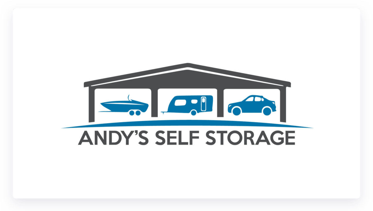 Andy's Self Storage Logo
