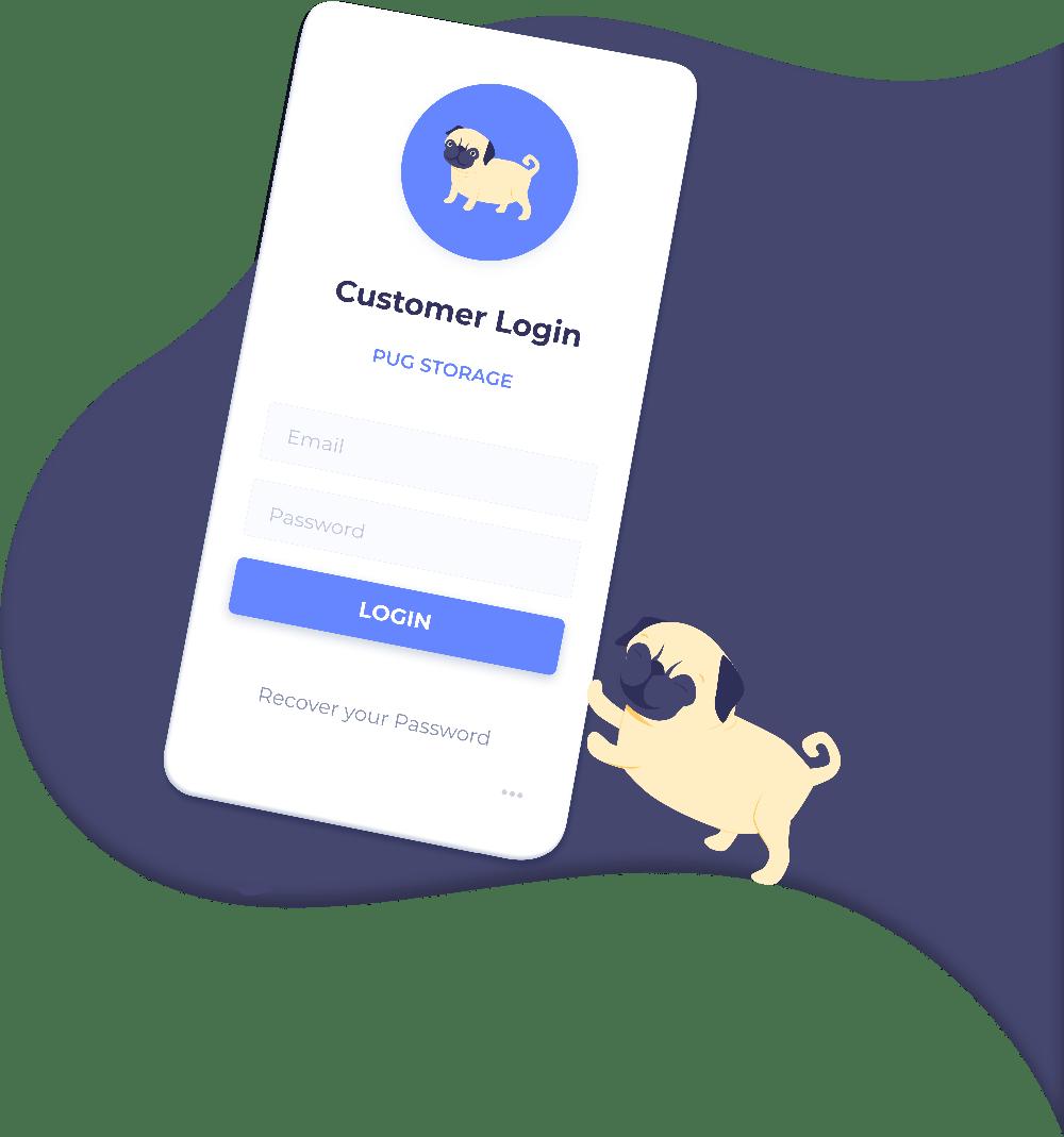 StoragePug customer login