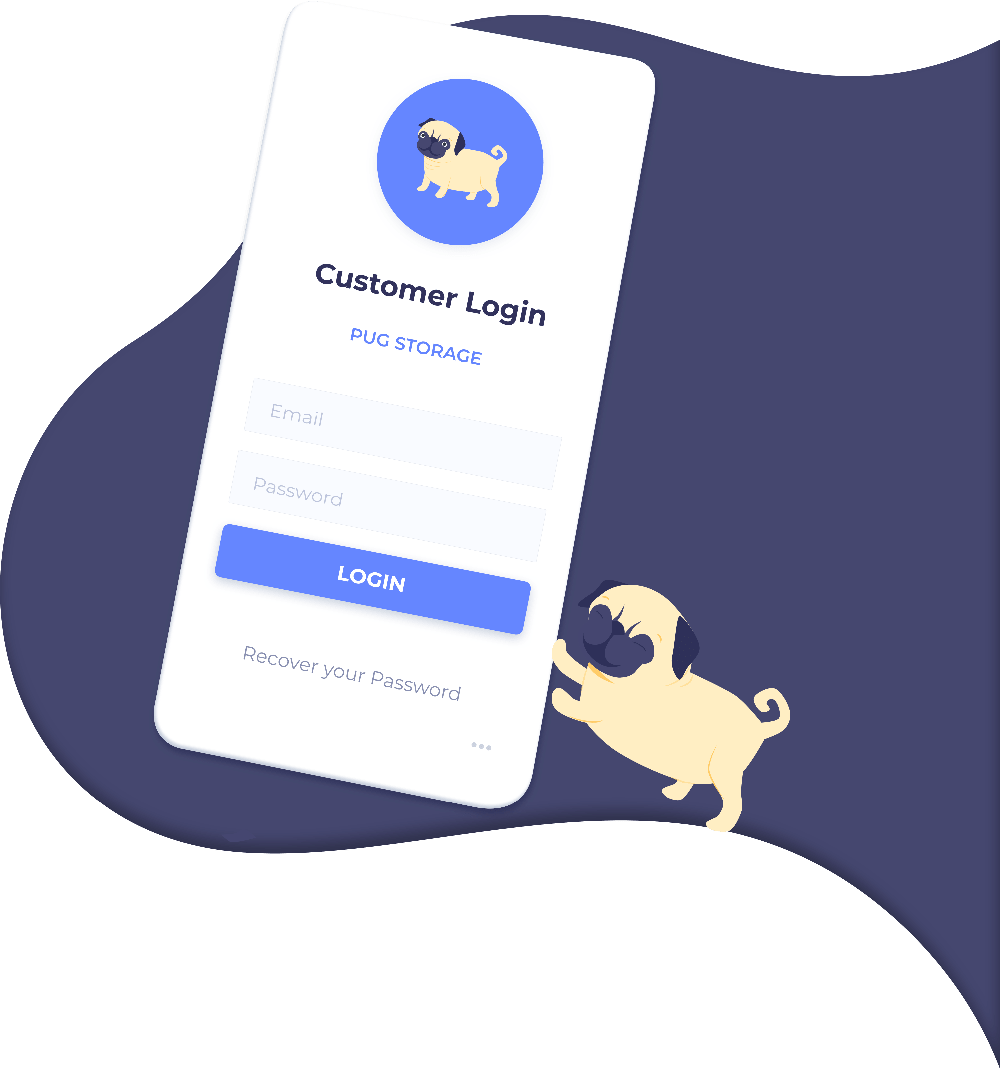 StoragePug customer login